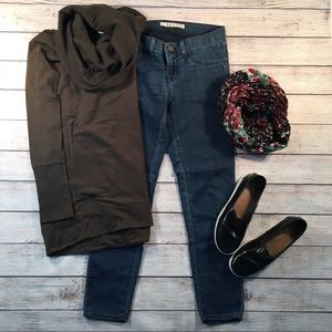 J Brand cropped jeans so soft Fox wash 25